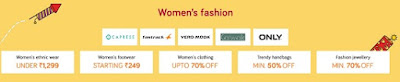 Snapdeal Unbox Diwali Sale - Get upto 70% off + 10% discount via Axis Bank fashion sale (20-25th September)