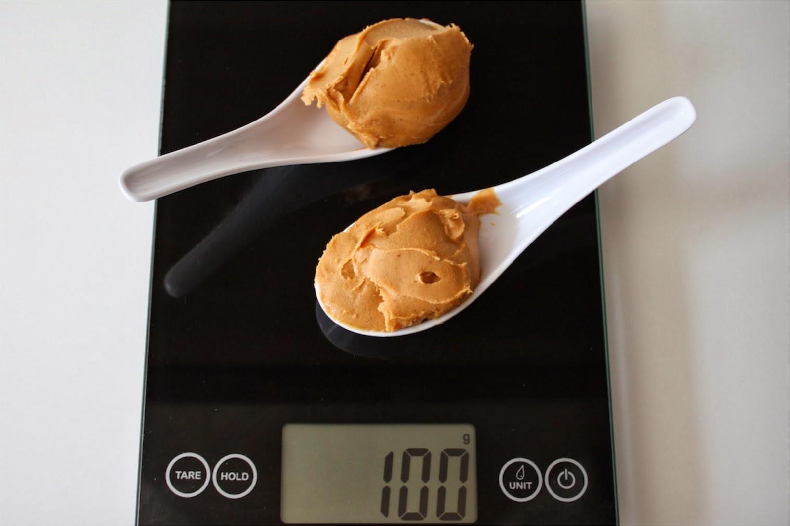 100 Grams of Peanut Butter