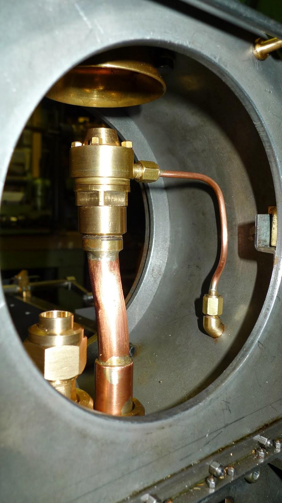 W 252 Rttembergische T3 Smokebox Steam Pipe Arrangements