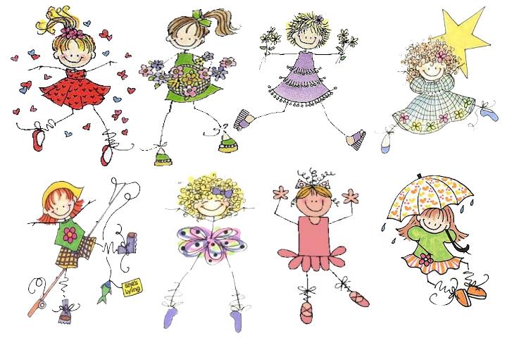 Dibujos De Munecas Para Colorear E Imprimir: Dibujitos De Muñecas Para Imprimir