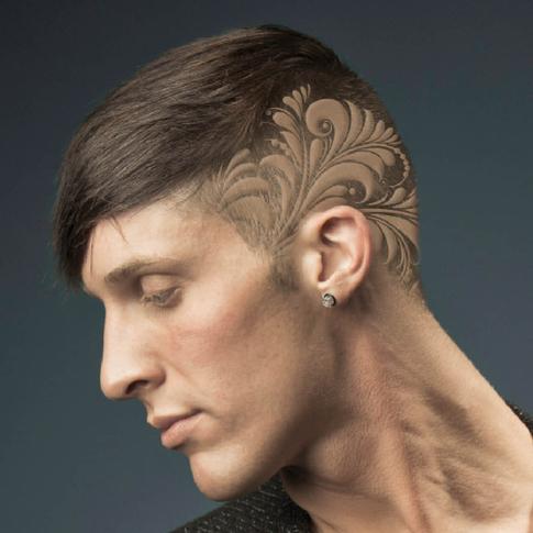 hair tattoosteulugar
