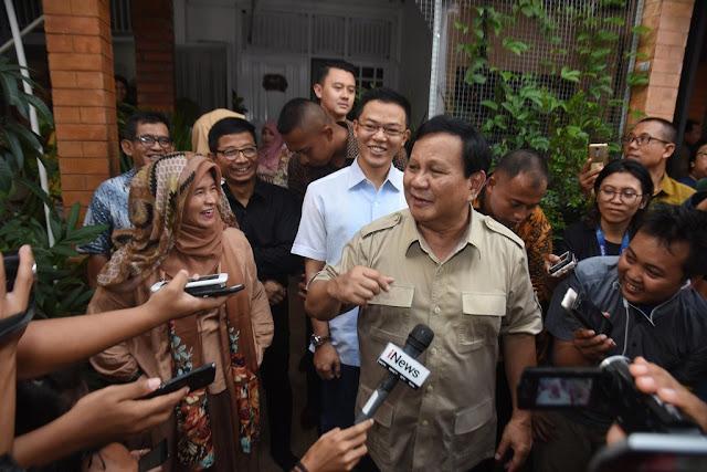 Kubu Prabowo Bakal Tampung Aktivis 212 dan #2019GantiPresiden