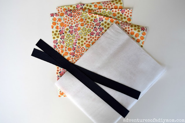 supplies needed for small tote bag