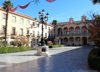 Plaza de las palomas. Plaza de la Constitución. Guadix