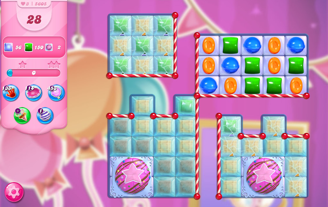 Candy Crush Saga level 5605
