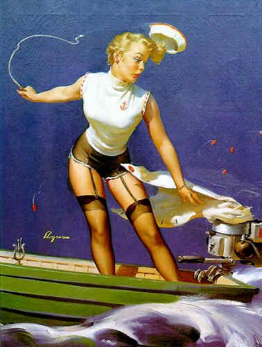 Vintage pinup girl images