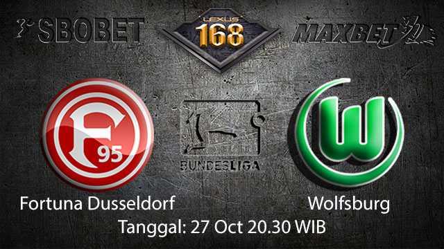 Prediksi Bola Jitu Fortuna Dusseldorf vs Wolfsburg 27 Oktober 2018 ( German Bundesliga )