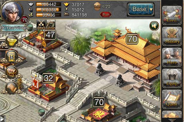 เกมสามก๊ก Chaos of Three Kingdoms สำหรับ Android