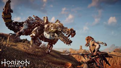 Horizon Zero Dawn, ps4 game