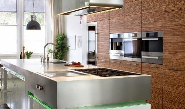 C mo integrar el microondas en la cocina cocinas con estilo - Cocina al microondas ...
