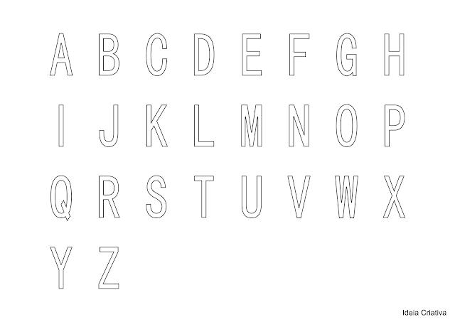 Atividade Percepção Visual com Alfabeto Móvel