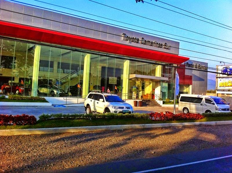 Toyota Camarines Sur Inc  ~ Naga City Deck