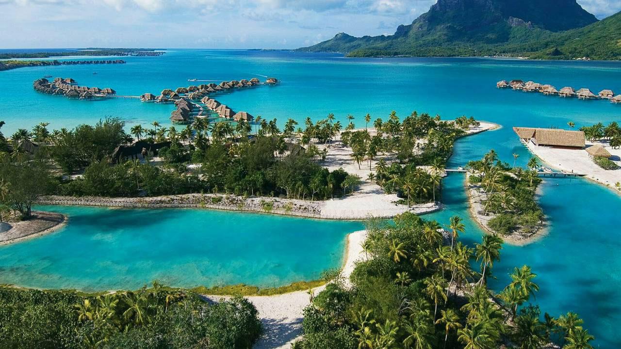 bora bora island most romantic island in the world traveling in holidays. Black Bedroom Furniture Sets. Home Design Ideas