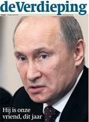 Poetin in Trouw/de Verdieping op 8 april 2013