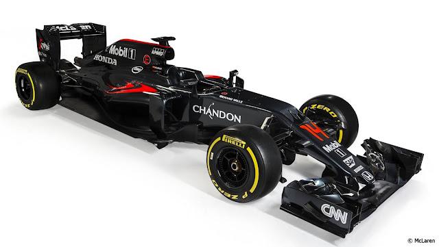 McLaren-Honda MP4-31 2016