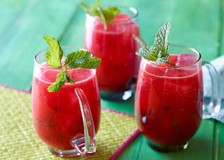 Resep Cocktail Buah Semangka Soda miresep
