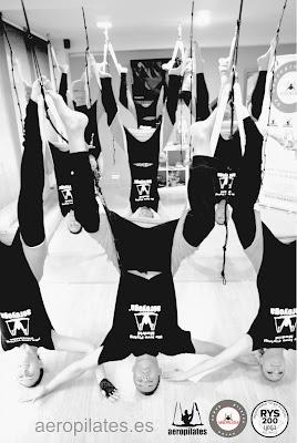 CURSOS AEROPILATES® UN METODO DE RAFAEL MARTINEZ, CREADOR AEROPILATES Y AEROYOGA , INTRODUCTOR PILATES AEREO Y YOGA AEREO EN ESPAÑA Y EUROPA