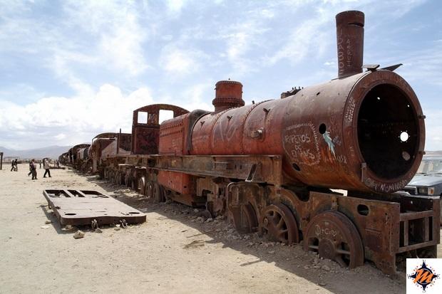 Uyuni, cimitero dei treni