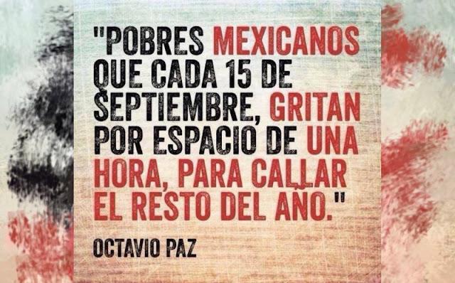 Que el grito sea: EPN y el PRI nunca más, #AdiosALaCorrupción...¡VIVA MÉXICO!