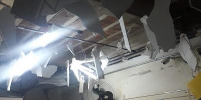 Grupo armado explode agência dos Correios da cidade de Coremas