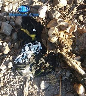 Ossada humana encontrada próx. à Vila Isamara, Chapadinha (1)