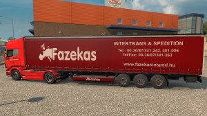Fazekas Skin for Scania Streamline & R + trailer