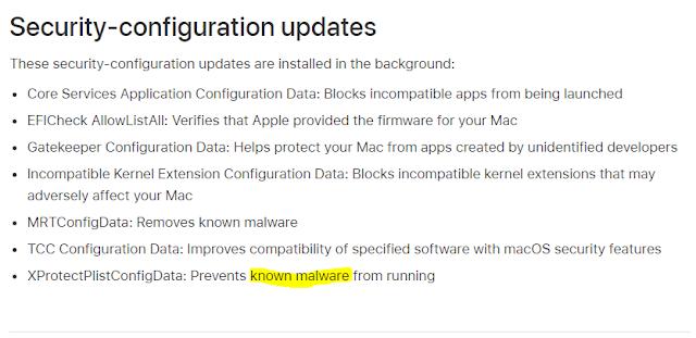 Security-configuration updates imagen
