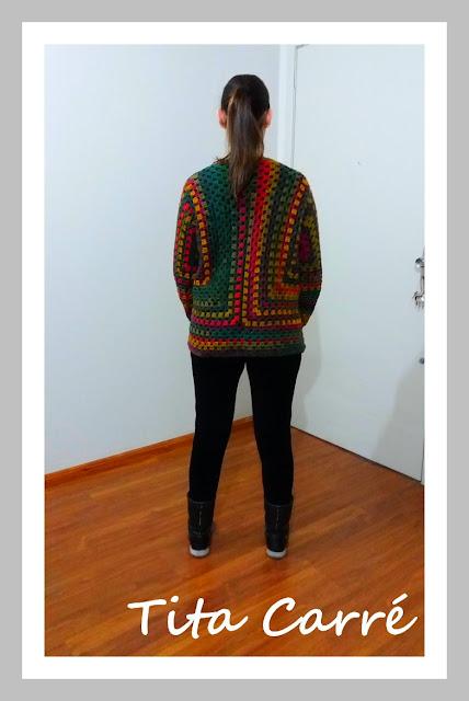 Casaco CampFire em Crochet