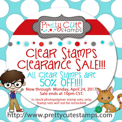 Clear Stamps are 50% off!!!