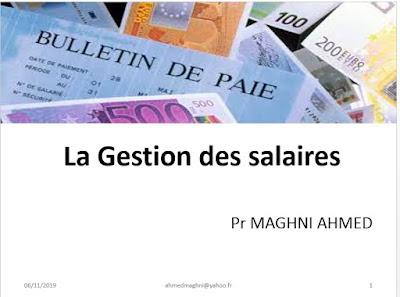 Gestion des salaires cours