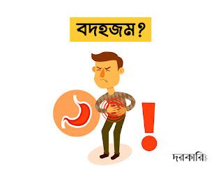 বদহজম: লক্ষণ কারণ ও এর প্রতিকার, স্বাস্থ্য তথ্য, দরকারি ইনফো, বাংলাদেশ
