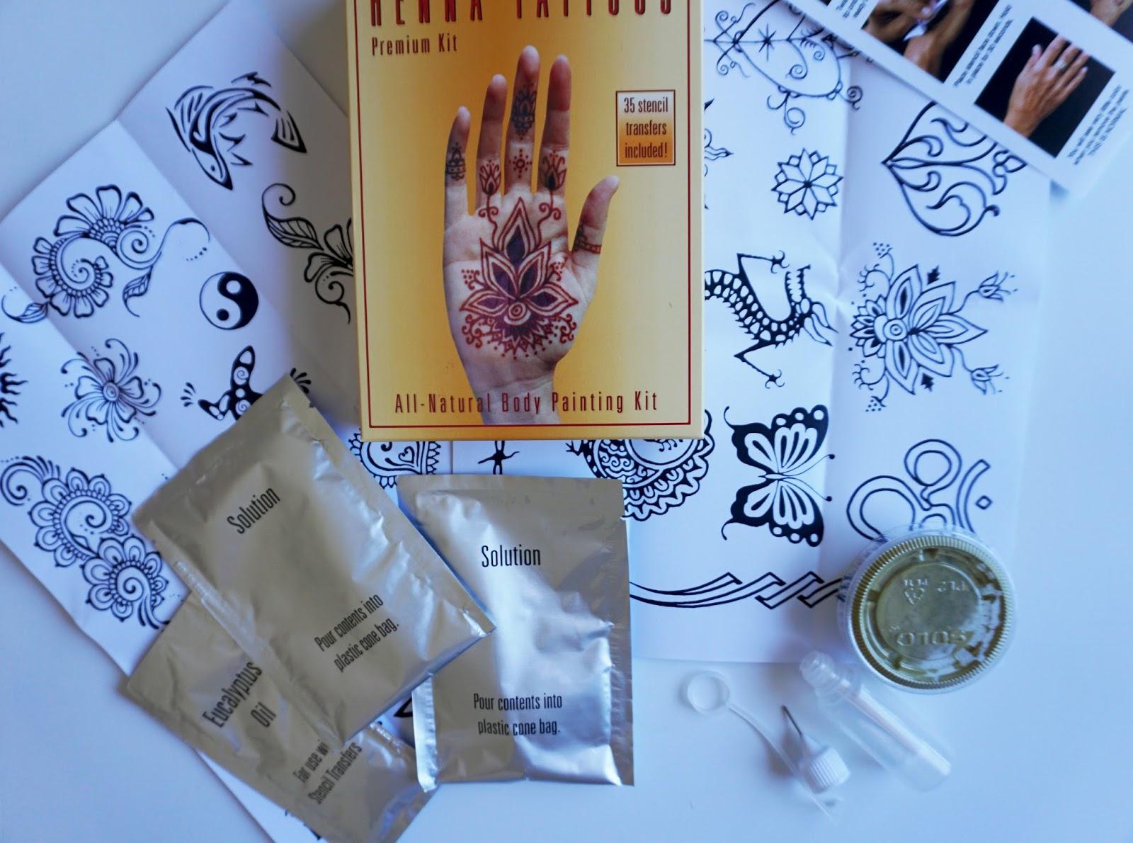 Henna Tattoo Kits For Sale: Jersey Girl, Texan Heart