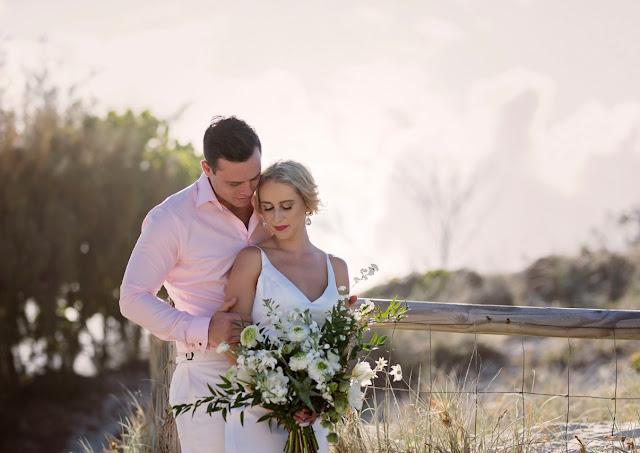 GOLD COAST BEACH WEDDING INSPIRATION AUSTRALIAN BRIDAL DESIGNER