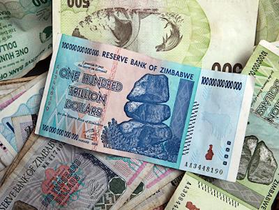 Final Forced Exchange Rate 175 Quadrillion Zimbabwean