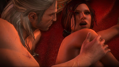 The Witcher 2 Triss sex