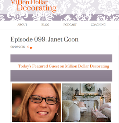 million dollar decorating with Janet Coon