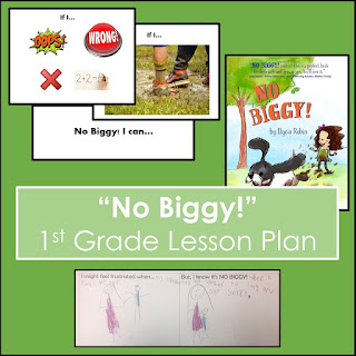 """No Biggy!"" 1st grade lesson plan"
