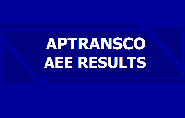 APTRANSCO AEE Assistant Executive Engineers Results 2019 Declared on May 29