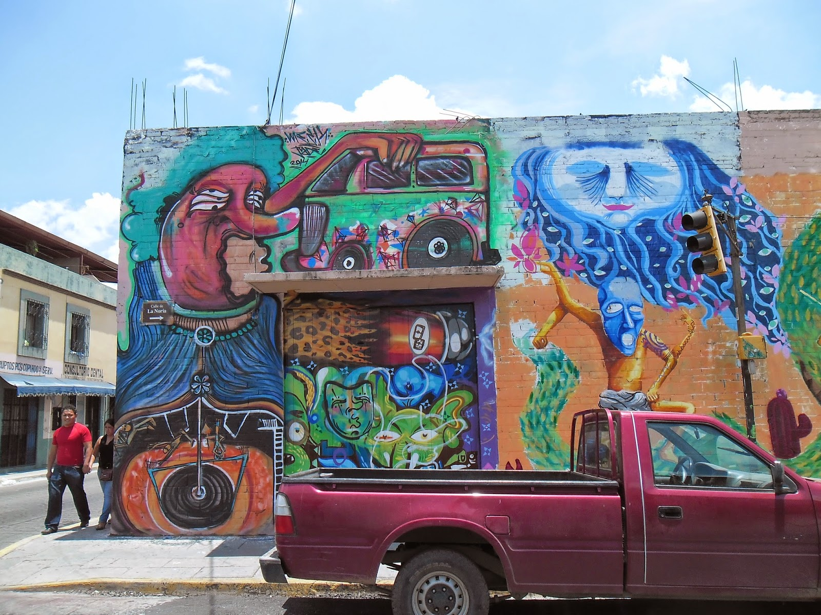 Psychedelic Street Art in Mexico