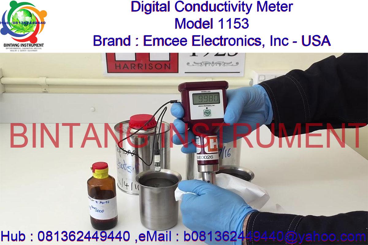 Emcee Conductivity Meter : Bintang instrument jual digital