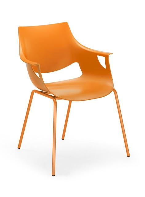 Scaun bucatarie Fano orange