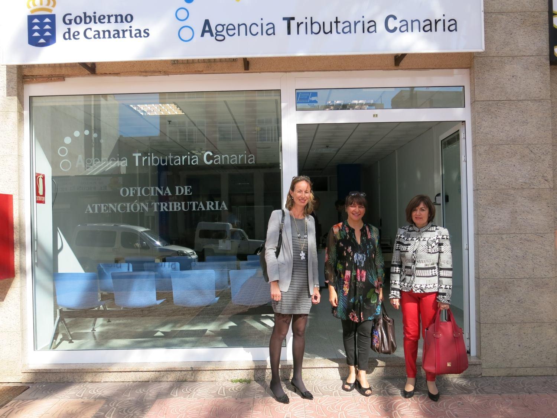abierta la oficina de agencia tributaria en vecindario ForOficina Tributaria Canaria