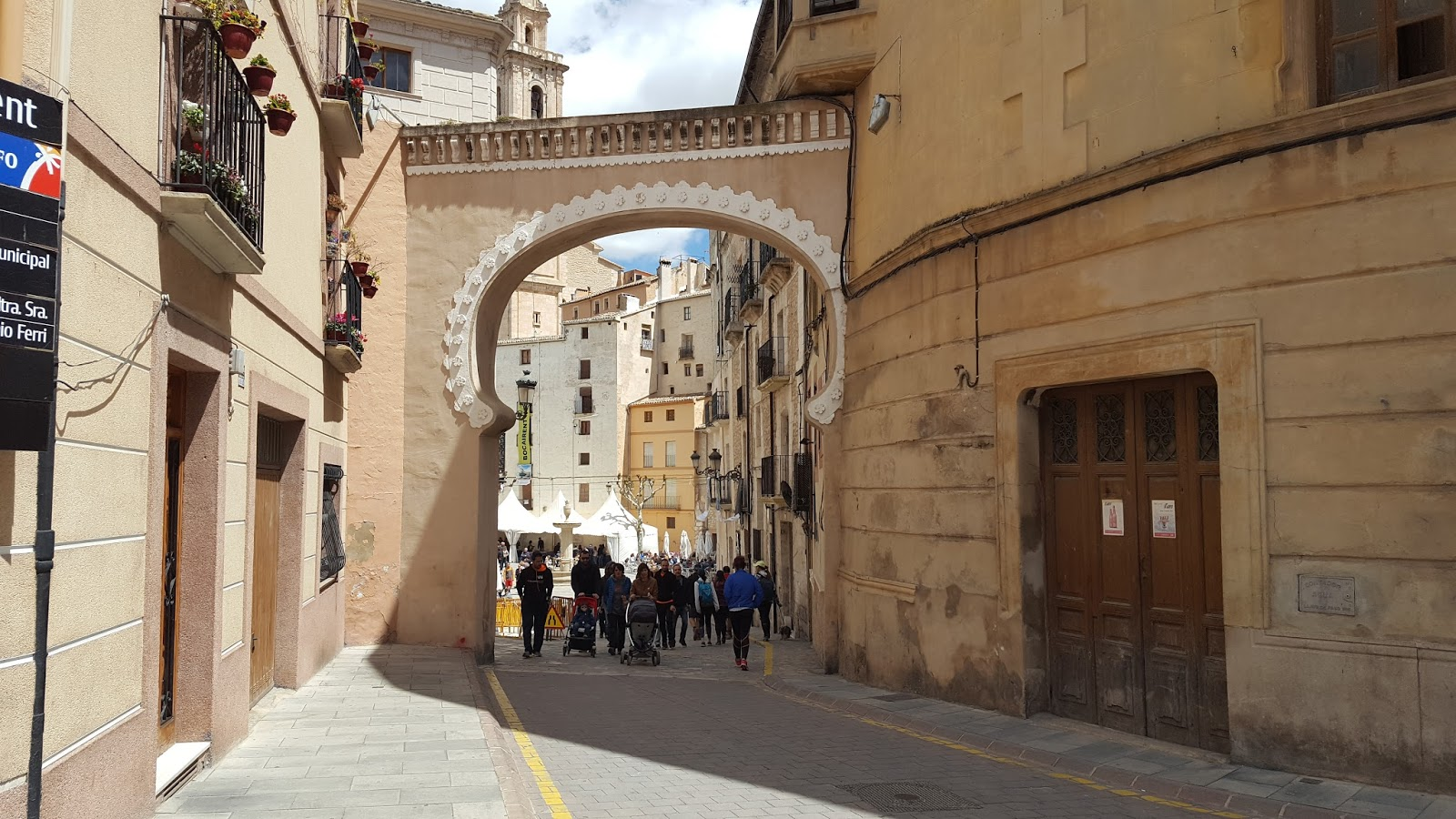 Cycling in Valencia - Old town of Bocairent, Vall d'Albaida
