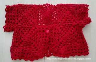 Crochet square vest baby kids