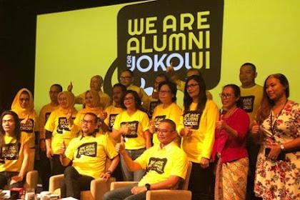 """Balada Alumni """"Nasi Bungkus"""" UI For Jokowi,  Sangat janggal ada alumni UI kok...."""