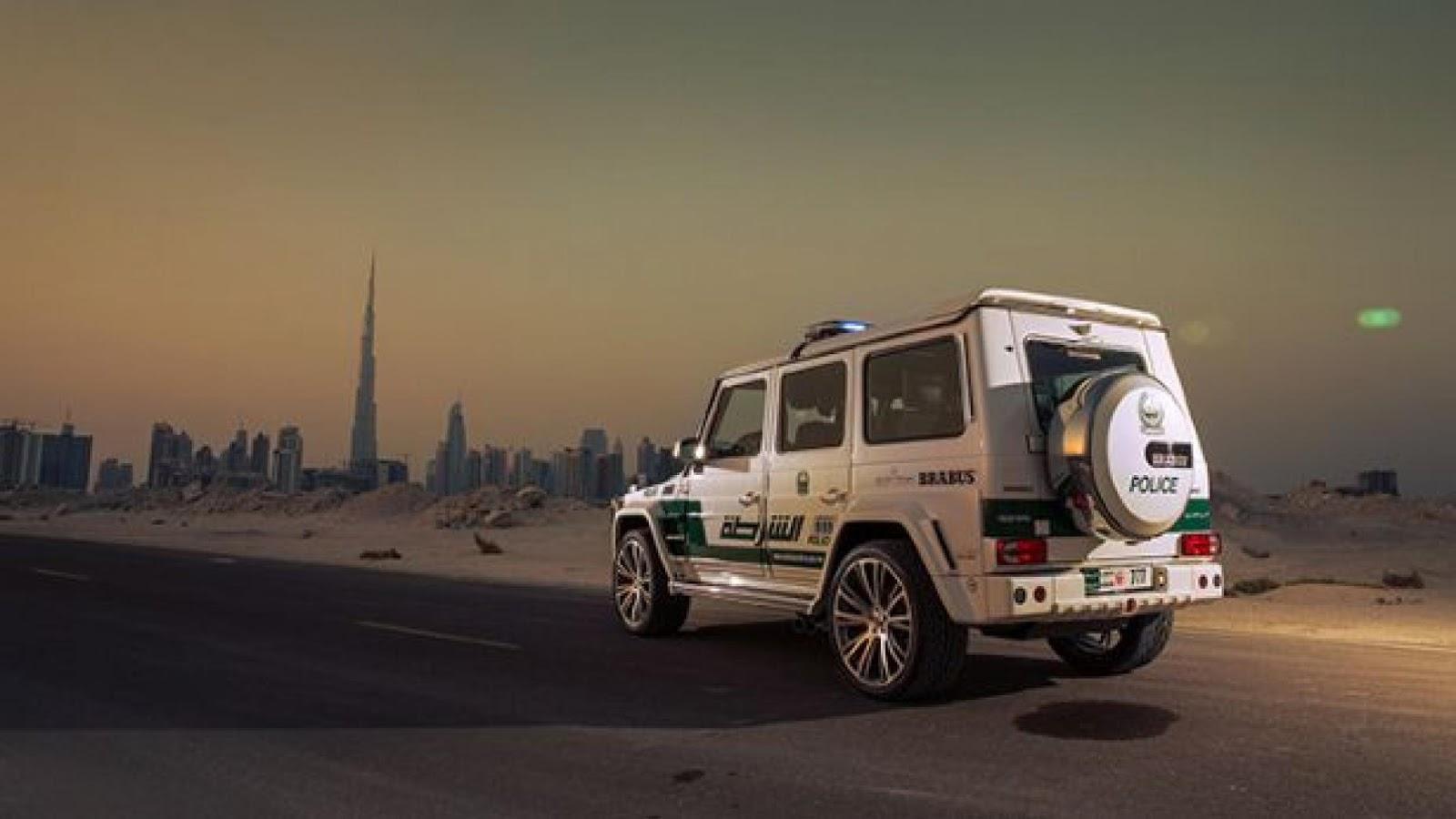 Dubai police Brabus G63 AMG