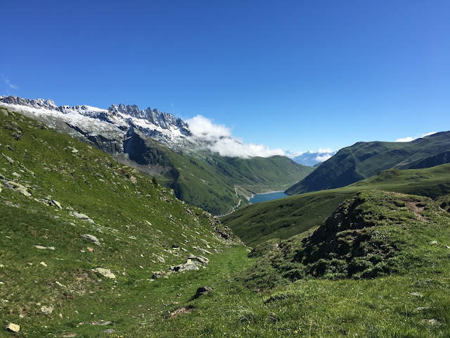 Col du Glandon from Col du Sabot