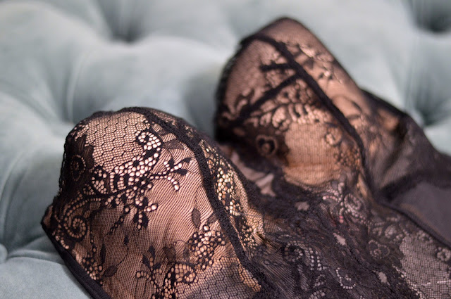 Black Lace Corset- What Women Want for Valentine's Day | all dressed up with nothing to drink...