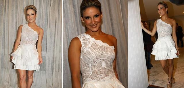 vestidos para casamento civil ou noivado - Cláudia Leitte
