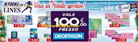 Logo Concorso Lines: Vinci un Natale sportivo e 66 buoni Decathlon da 100 euro